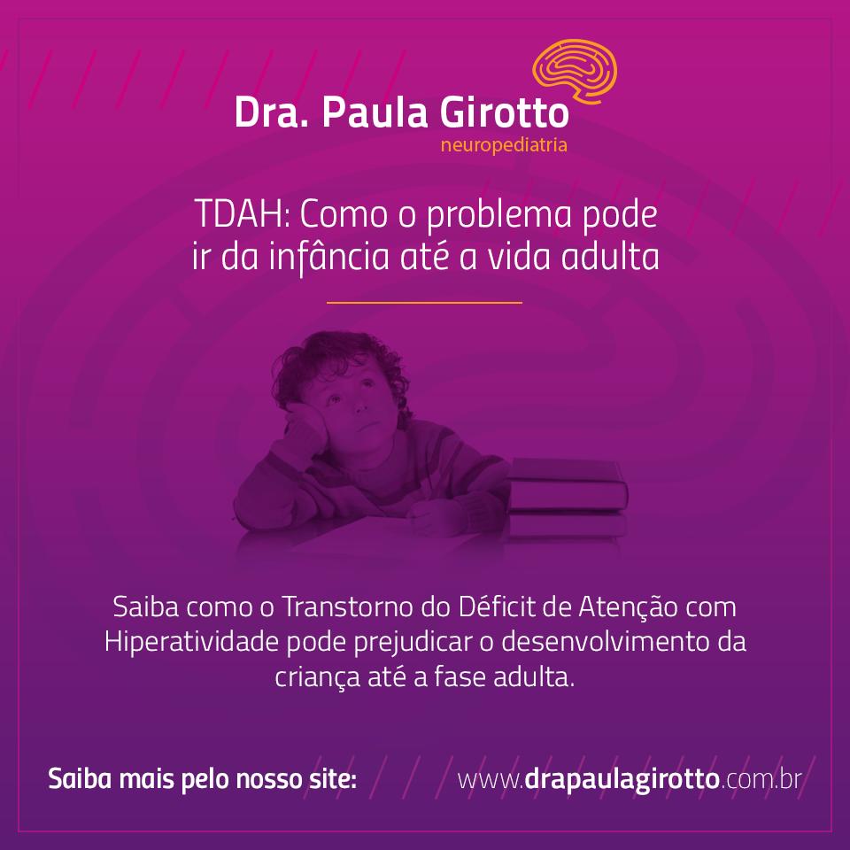 TDAH - Como o Problema Pode Persistir Durante Toda a Vida