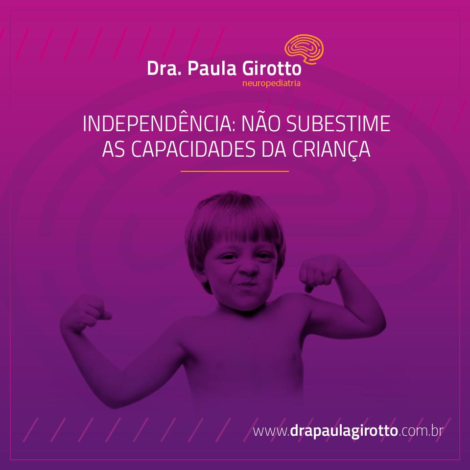 Independência da Criança: Não Subestime sua Capacidade