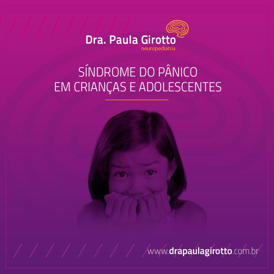 Síndrome do Pânico em Crianças e Adolescentes