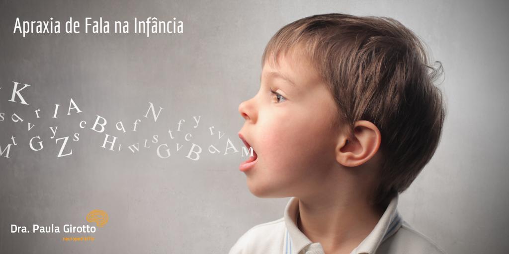 Apraxia de Fala na Infância Tratamento