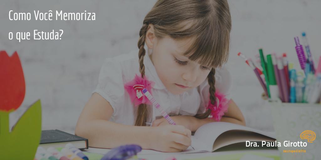 Como Você Memoriza o que Estuda?