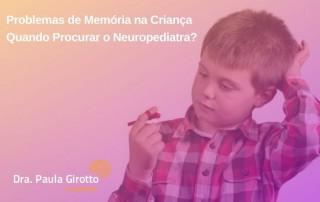 Problemas de Memória na Criança